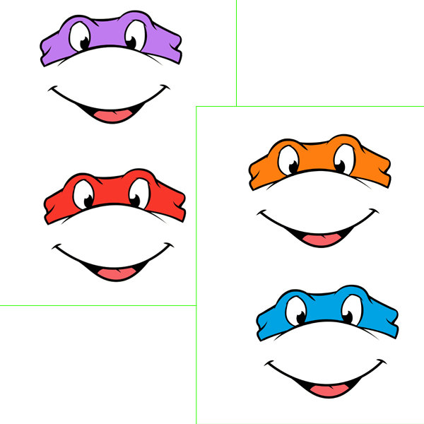 Mask clipart teenage mutant ninja turtle Download Balloon tags mouth with