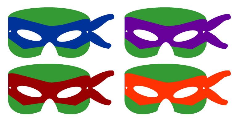 Mask clipart teenage mutant ninja turtle Mutant Turtles Frugal Cod Masks
