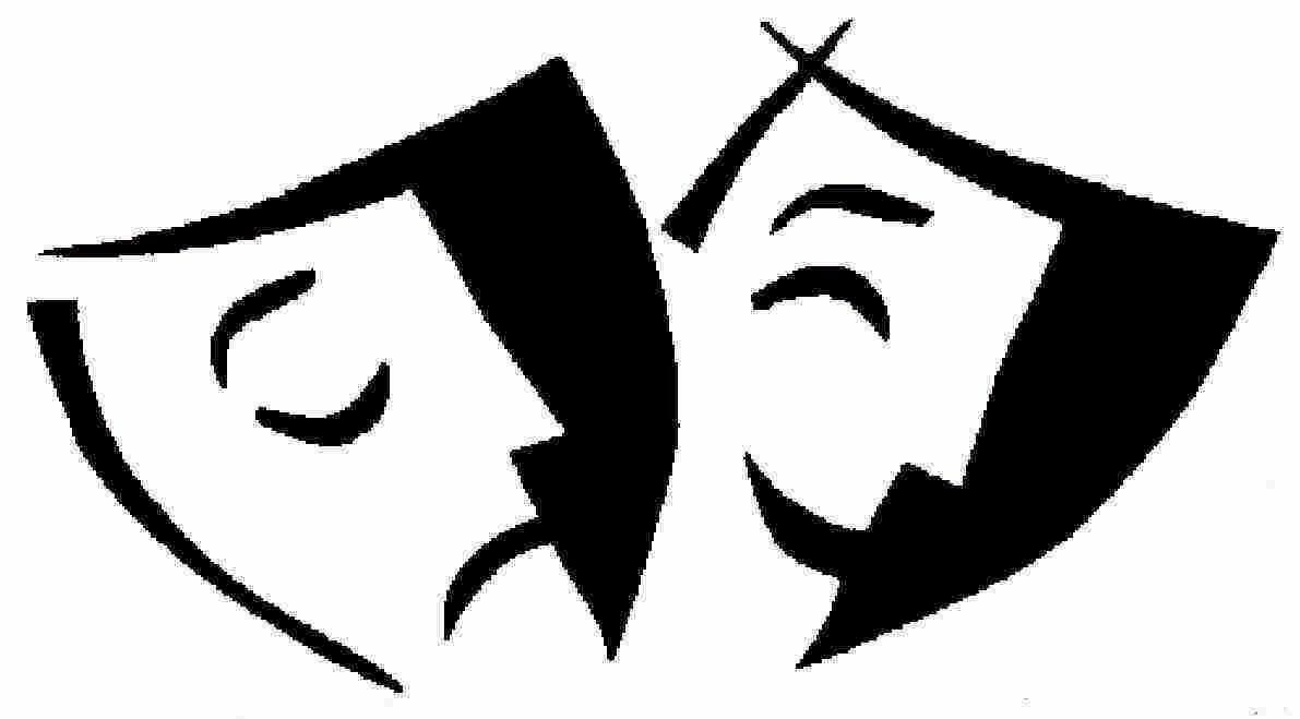 Theatre clipart silhouette  Clip Art Art Download