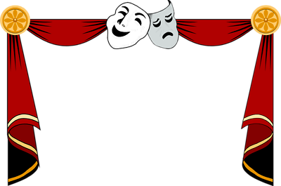 Theatre clipart drama Masks clipart theatre Theater masks