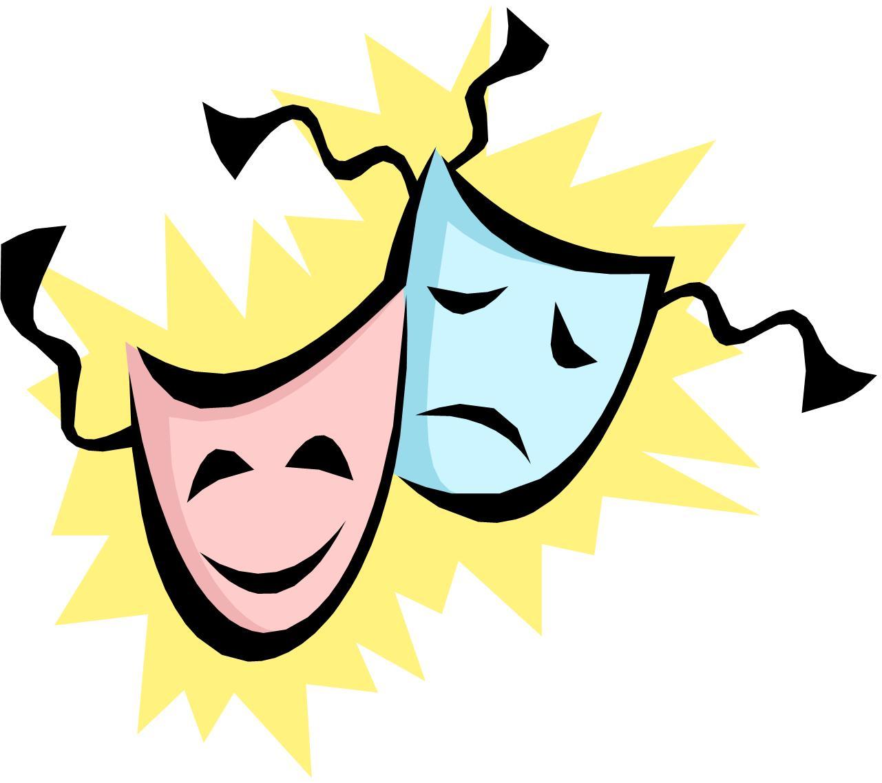 Theatre clipart kid drama Clip Theatre Clip mask theater