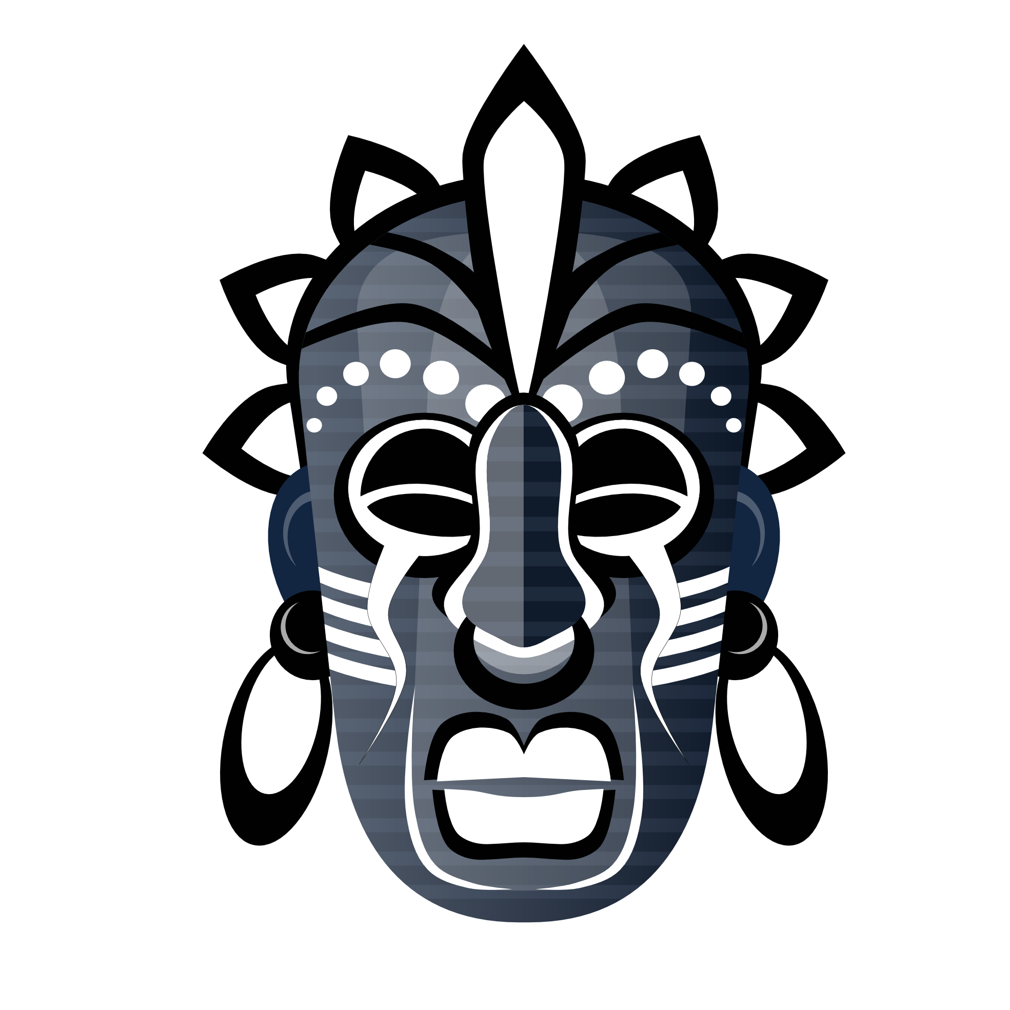 Mask clipart tribe 1969px net Tribal Vector Abstract