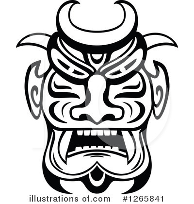 Mask clipart tribe Clipart Vector #1265841 Tradition Clipart
