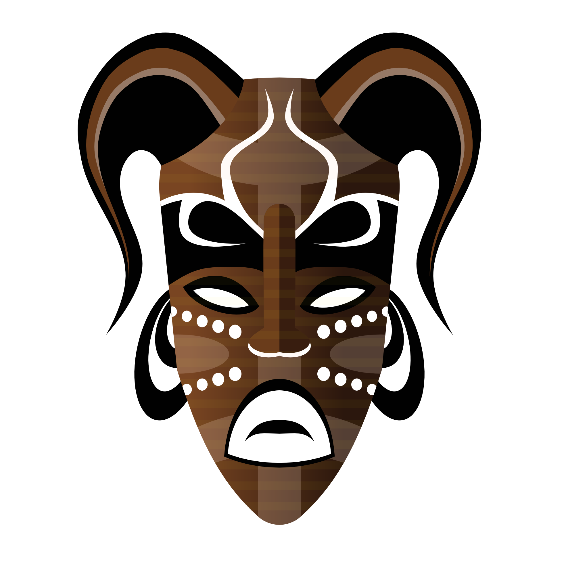 Mask clipart tribe 1969px net Tribal com Abstract