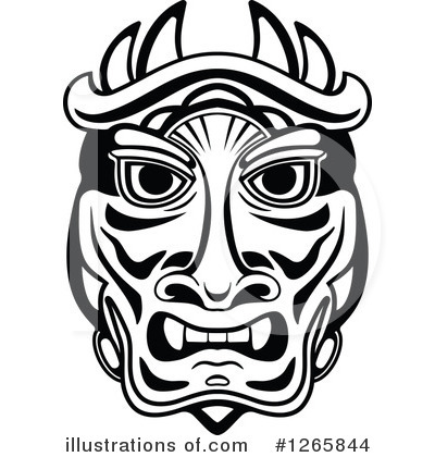 Mask clipart tribe Clipart Vector #1265844 Tradition Clipart
