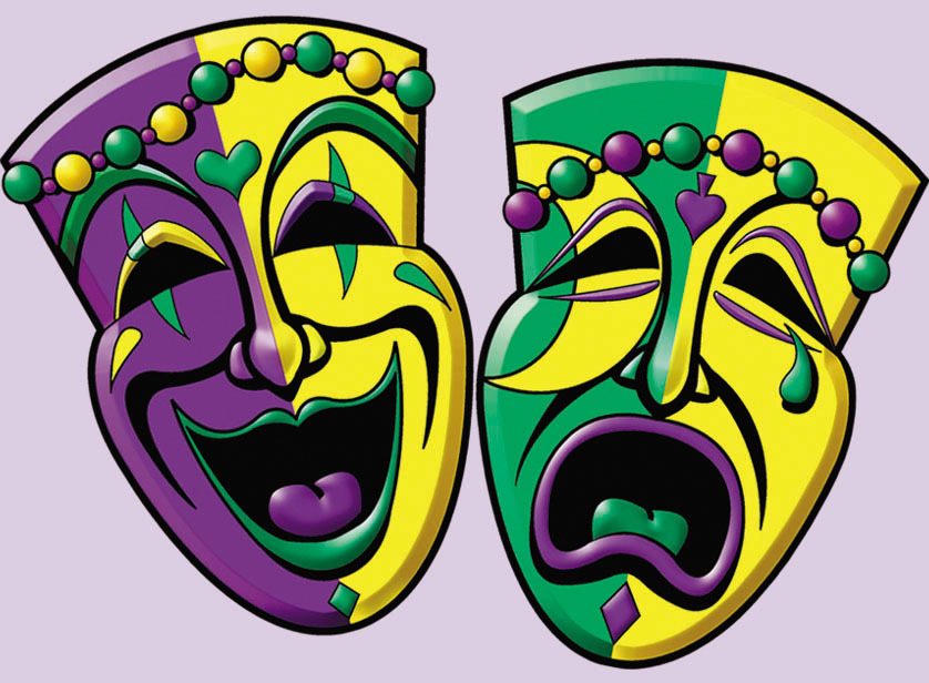 Mask clipart two face Cliparting clipart gras gras Mardi