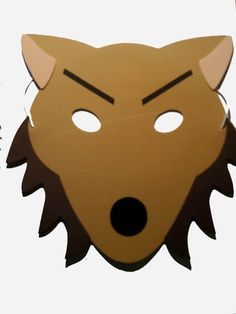 Wolf clipart wolf mask A WOLF hoodie MASK Musical