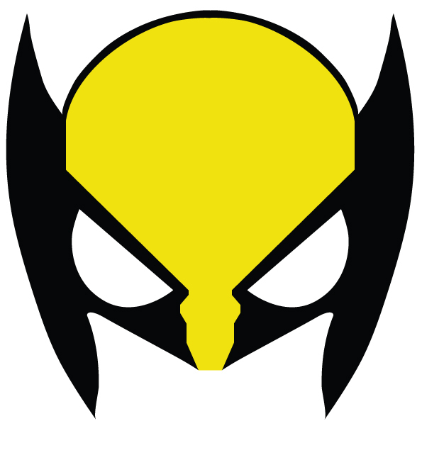 Wolverine clipart party mask Day Superhero a SuperHeroes of