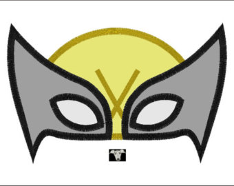 Wolverine clipart mask Etsy Wolverine Mask sizes Designs