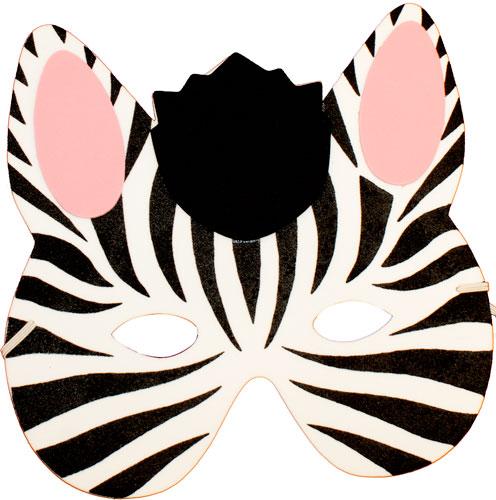 Mask clipart zebra Accessories Ideas Mask Zebra Foam