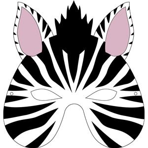 Mask clipart zebra Mask zebra View Design Store