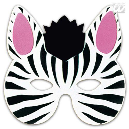 Mask clipart zebra Animal ideas Kids Animal Masks