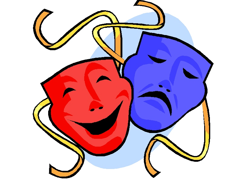 Masks clipart Theater Theatre clipart Mask collection
