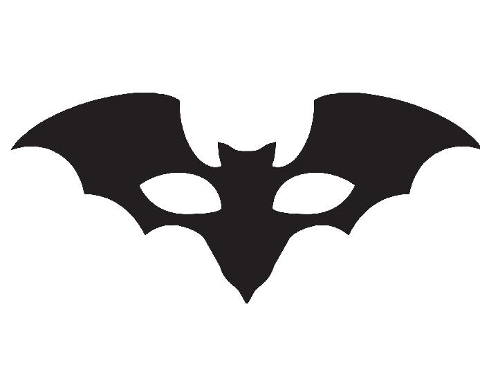 Batgirl clipart mask Batman Mask Sample Batman Template