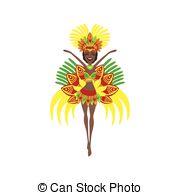 Carneval clipart brazil carnival  Colorful Brazilian Royalty Brazilian