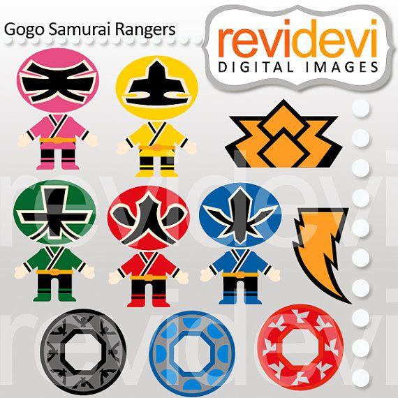 Samurai clipart power ranger #3