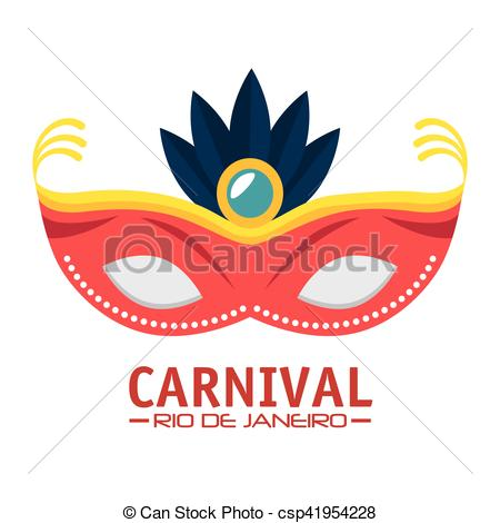 Rio De Janeiro clipart  Carnival feathers Carnaval of