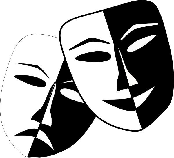 Theatre clipart mask transparent Idea getting theatre simple like