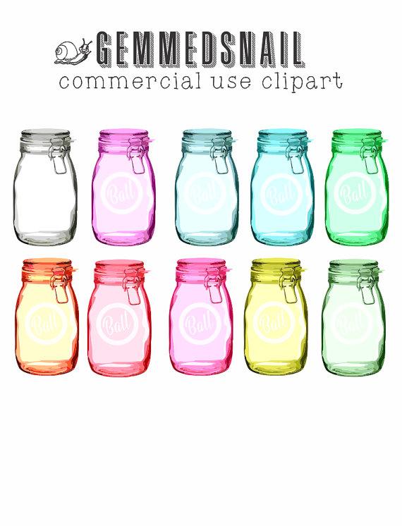Mason Jar clipart ball jar With like 10 jars jar