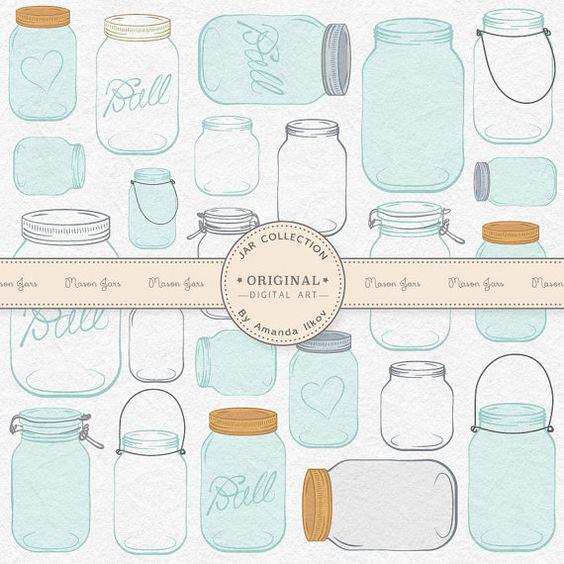 Mason Jar clipart glass jar Mason Professional Clipart Clipart Jar