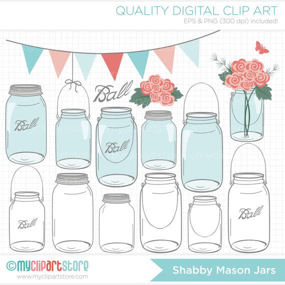 Mason Jar clipart masson Clip Mother's Masson ( Jars