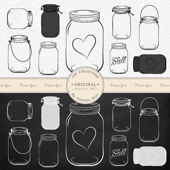 Mason Jar clipart rsvp Jar jars Best mason Mason
