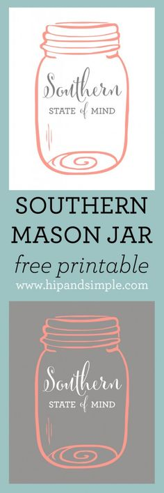 Mason Jar clipart southern Art  Southern Free www