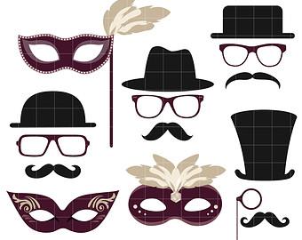 Masquerade clipart Masquerade Clip Party Paper Masquerade