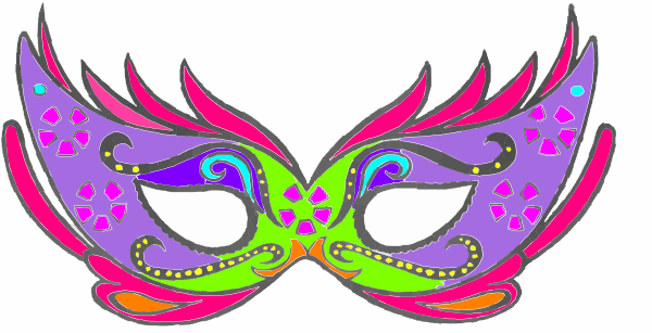 Masquerade clipart  Clip this online image