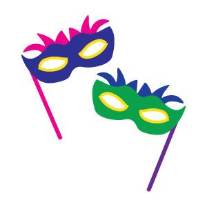 Masquerade clipart #MardiGras Masquerade Pinterest party art!