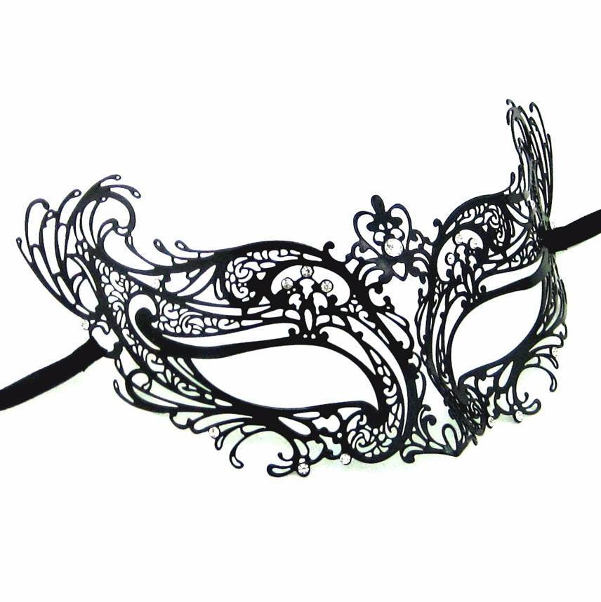 Masquerade clipart black mask Eco Mask for Masks Masquerade