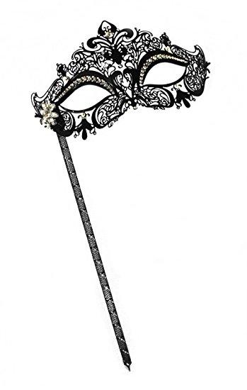 Masquerade clipart black mask Venetian Laser Cut Black Masquerade