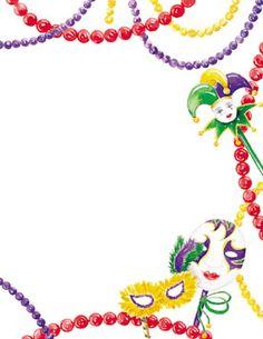 Necklace clipart border #3