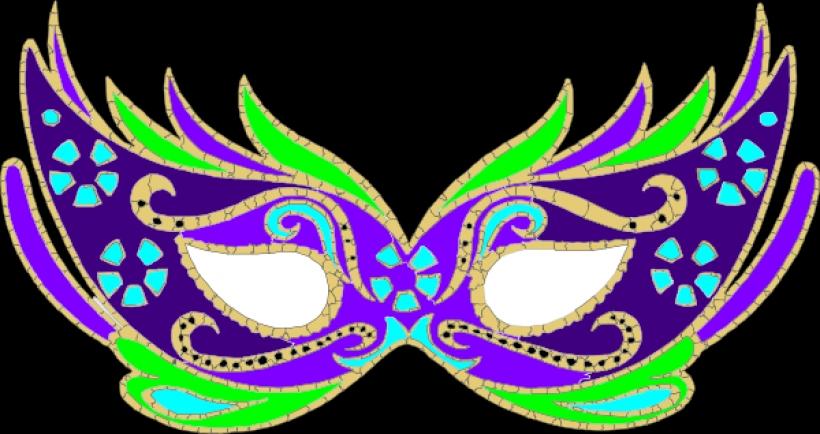 Masquerade clipart carnival mask Fnc Purple Free Art Masquerade