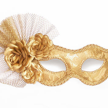 Masquerade clipart carnival mask Gold Metallic Mask clipart With