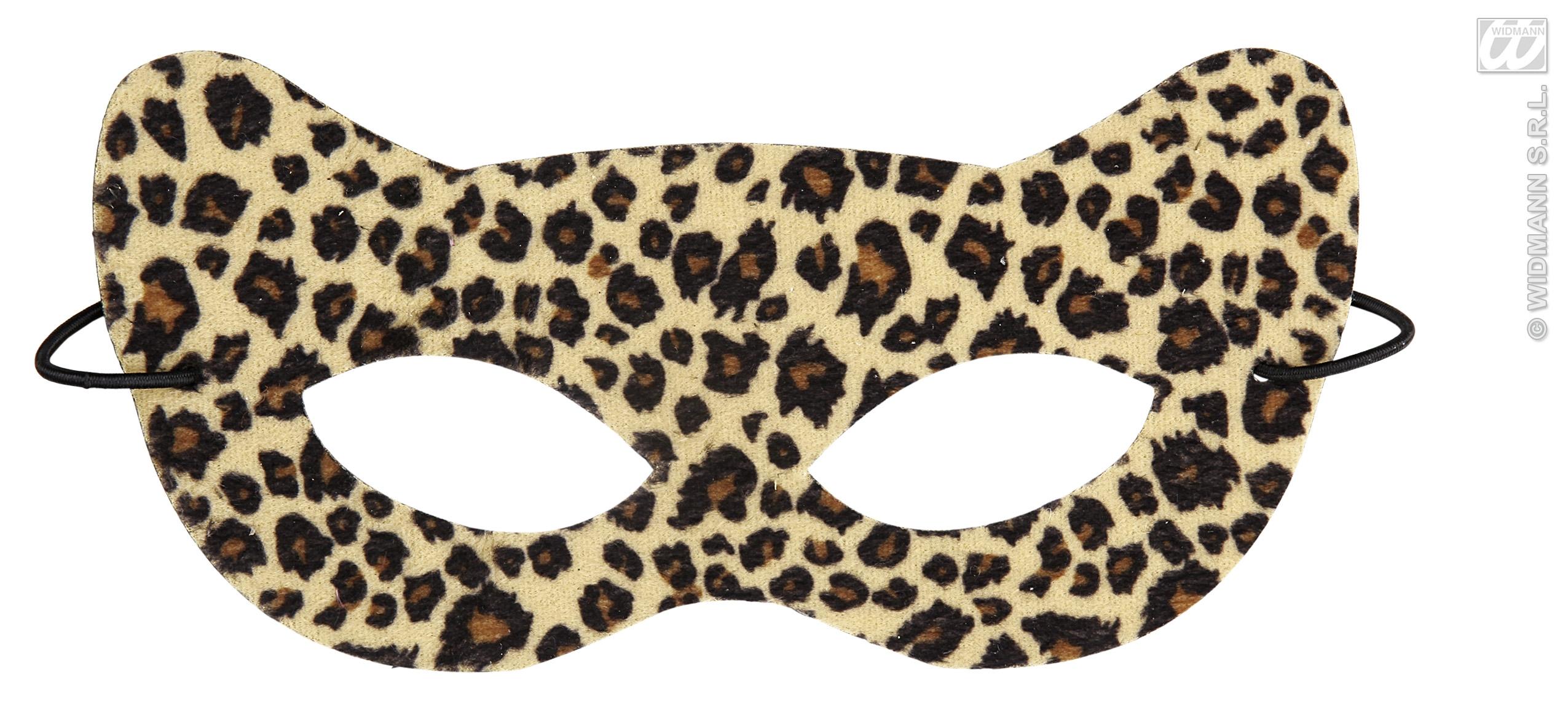 Masquerade clipart eye mask Mask Leopard Fancy Halloween Masquerade