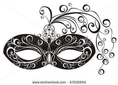 White clipart masquerade mask Free cliparts Clipart Masquerade Mask
