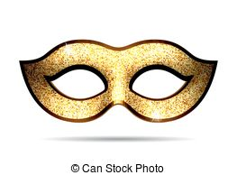 Masquerade clipart gold Clipart carnival  Collection mask