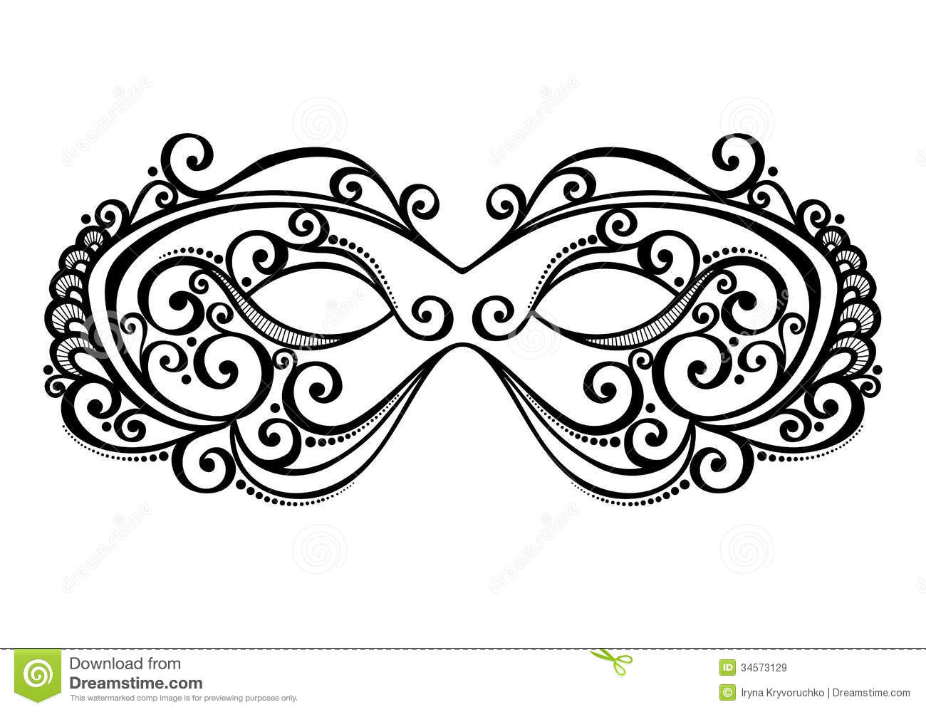 Masquerade clipart mascara Use beautiful vector And this