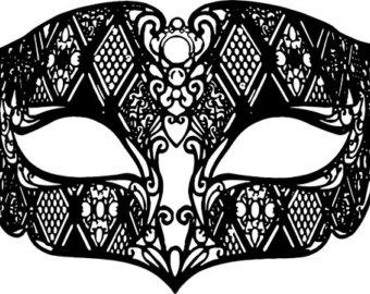 Masquerade clipart masquerade ball mask Art gras graphics png mask