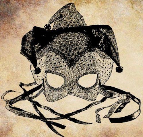 Masquerade clipart masquerade ball mask Mardi gras printable Digital mask