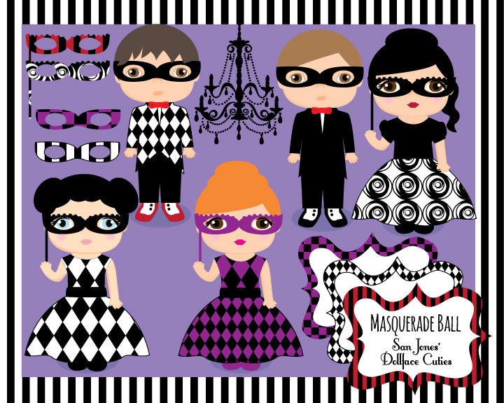 Masquerade clipart masquerade party  This Clip Clipart Masquerade