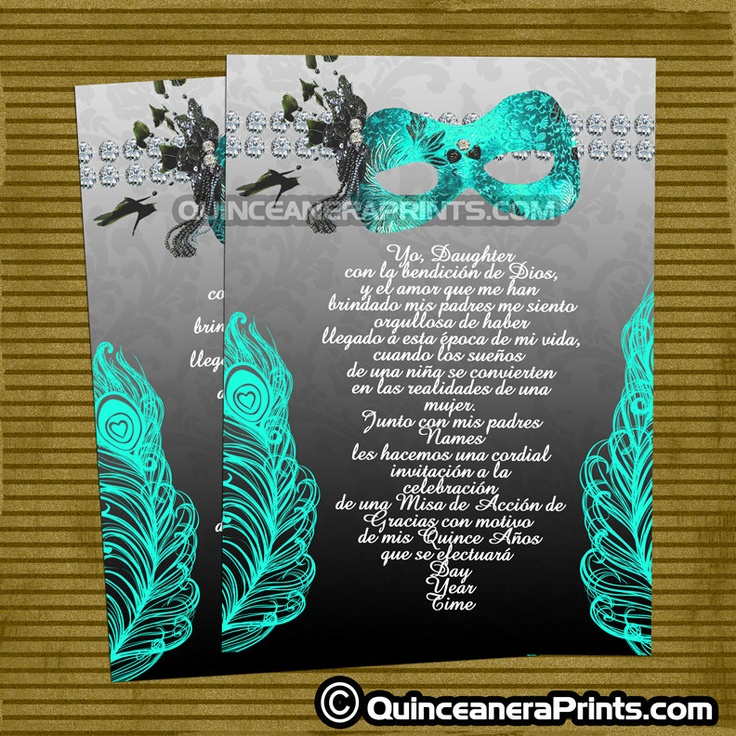 Masquerade clipart mascara Editable Invitations Birthday Pinterest Masquerade