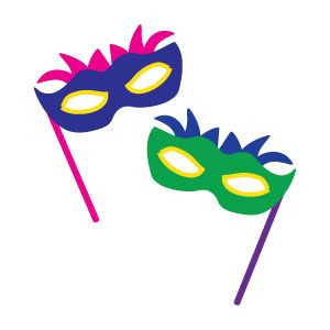 Masquerade clipart prom Images on best about art!