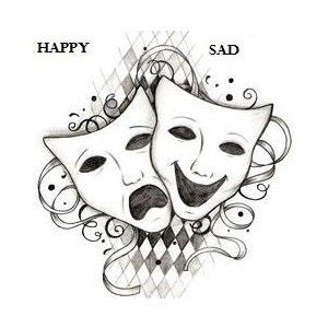 Theatre clipart theatre mask comedy tragedy Best Pictures pictures Tragedy masks
