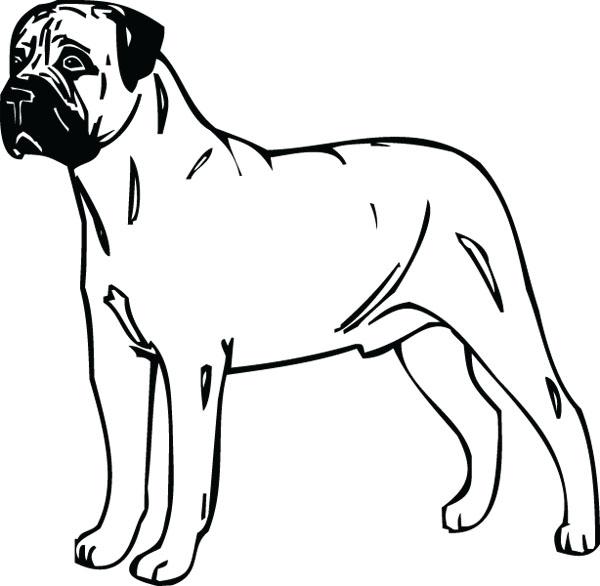 Mastiff clipart Mastiff DIYClipart Art dog Mastiff