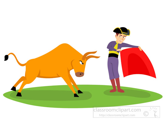 Matador clipart Running Bull Kb matador Illustrations