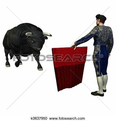 Red Bull clipart bullfight Clipart 11809 Bullfight collection Clipart