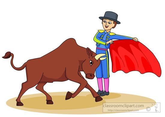 Matador clipart spanish bull Clip (67+) matador bull Clipart