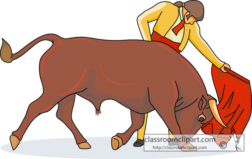 Matador clipart spanish bull Spain Clip search clipart Spanish
